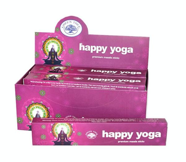 Incenso Happy Yoga