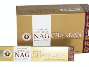 Incenso Golden Nag Chandan
