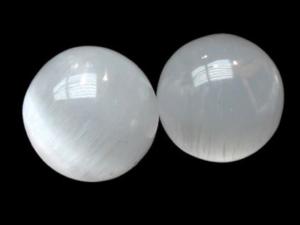 Selenite, esferas