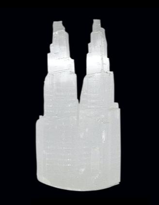 Selenite, torre dupla