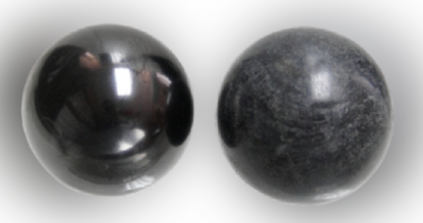 Shungite, esferas duplas Tulikivi