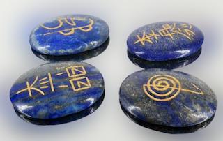 Lapizlazuli, simbolos reiky