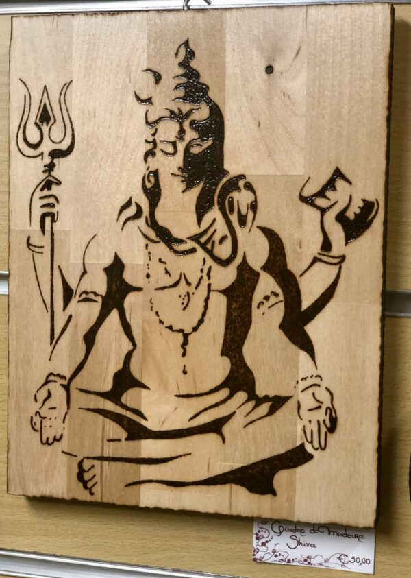 Quadro de Madeira Shiva